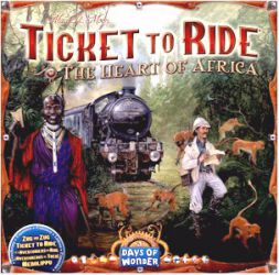 Ticket To Ride: Heart of Africa (Map Collection 3)