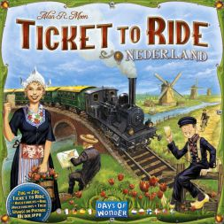 Ticket to Ride: Nederlands (Map Collection 4)