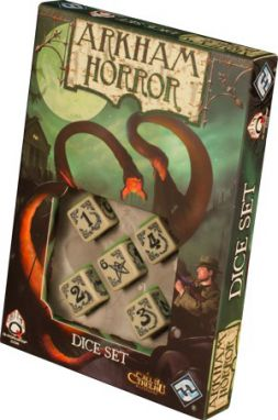 Arkham Horror: Dice Set Bone