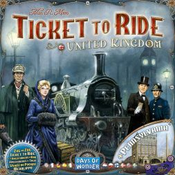 Ticket to Ride: United Kingdom  (Map Collection 5)