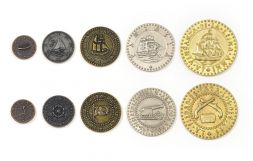 Pirate Ships Metal Coins