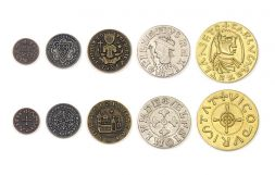 Metal Coins Middle Ages