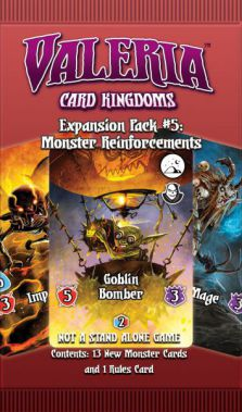 Valeria: Card Kingdoms - Exp. Pack #05: Monster Reinforcements