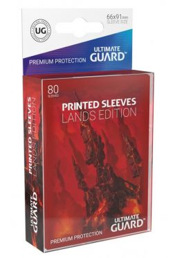 Printed Sleeves Lands Edition Mountain (80)