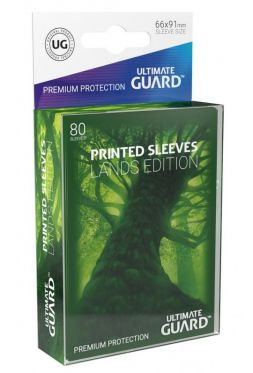 Printed Sleeves Lands Edition Forest (80)
