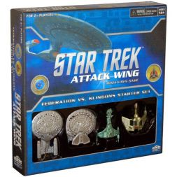 Star Trek: Attack Wing - Federation vs Klingons Starter Pack