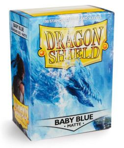 Dragon Shield standardní obaly: Matte Baby Blue (100 ks)