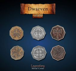 Dwarven Metal Coin Set