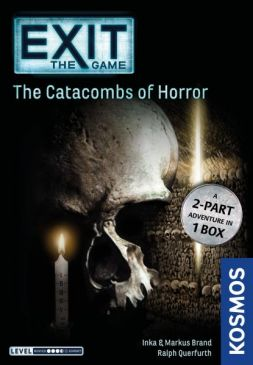EXIT: The Catacombs of Horror (naražený spodek krabice)