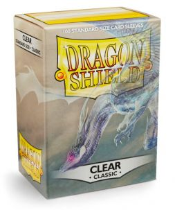 Dragon Shield standardní obaly: Classic Clear (100 ks)