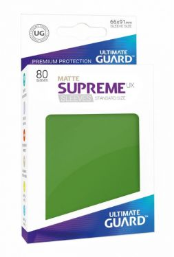 Supreme UX Sleeves Standard Size Matte Green (80)