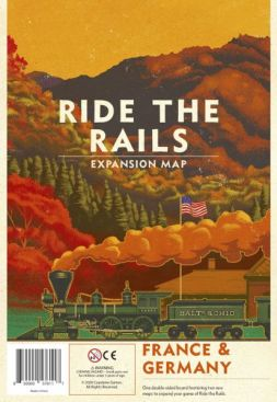 Ride the Rails: France & Germany Expansion