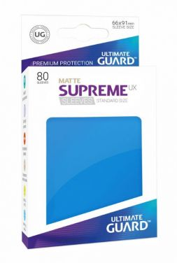 Supreme UX Sleeves Standard Size Matte Royal Blue (80)