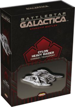 Battlestar Galactica: Cylon Heavy Raider Veteran Spaceship Pack