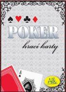 Poker papírové karty (červené)