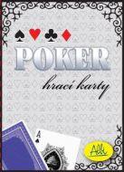 Poker papírové karty (modré)