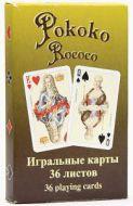 Hrací karty Rokoko